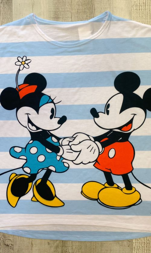 CAMISETA MICKEY & MINNIE RAYAS