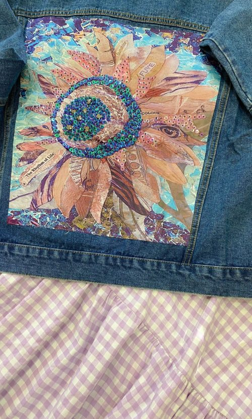 Cazadora Denim Sparkle